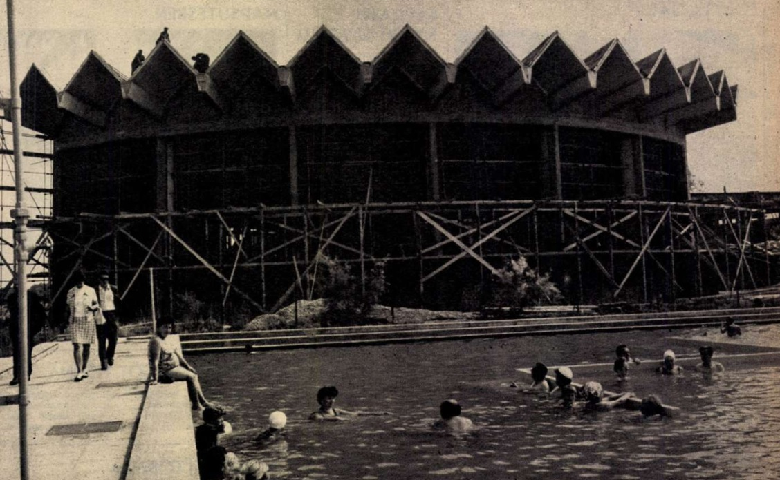 Zalakaros fedett fürdő 1975