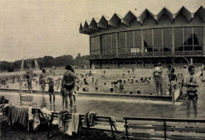 Zalakarosi fürdő 1979