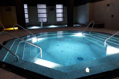 Nagyobb medencében érhető el a jódos-sós gyógyvíz