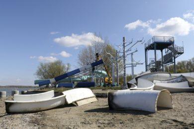 Tisza-tavi szabadstrandok: 700 millió forintos fejlesztés