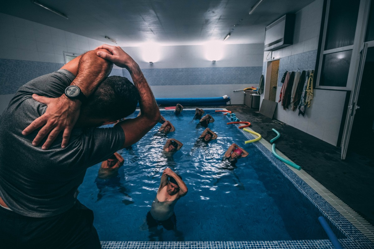 víz alatti gyógytorna