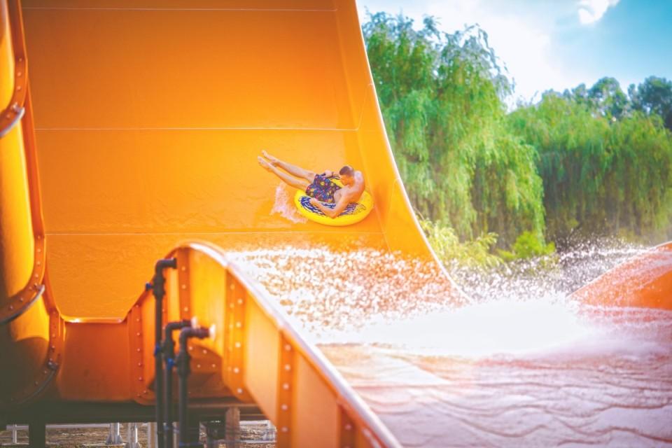 Zalakaros aquapark csúszdapark