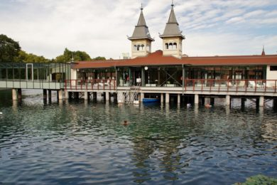 Legnépszerűbb termálfürdős települések - 2012
