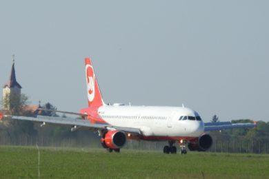 Egy volt Air Berlin géppel indult a hévízi charterszezon