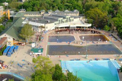 Előszezoni felvételek a Hungarospa strandfürdőjéről