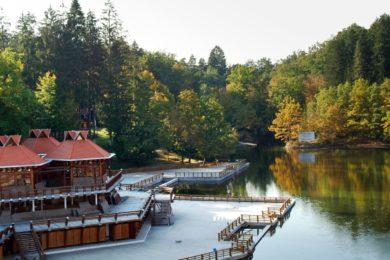 Rekorder a szovátai Medve-tó