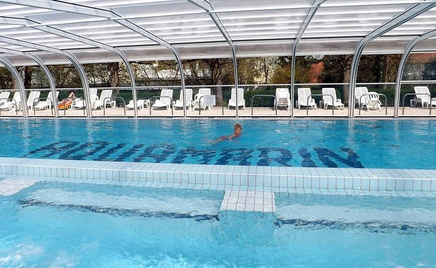 Hotel Aquamarin Hévíz úszómedence