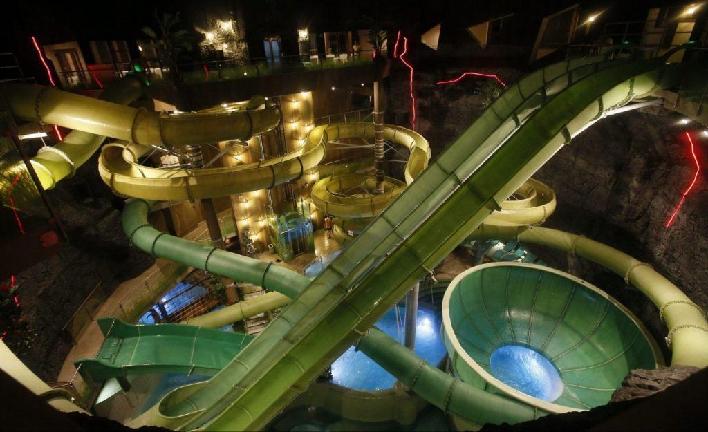 Demjén Cascade fedett aquapark