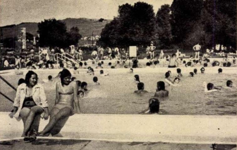 Bogácsi Gyógyfürdő 1976