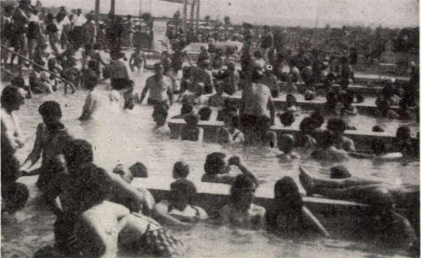 Bükfürdő 1962 gyógymedence