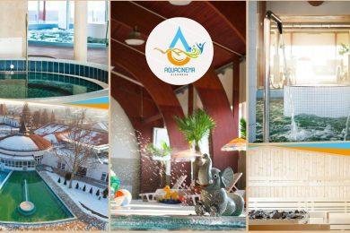 Jövő héten nyit az Aquacinema fürdő fedett részlege