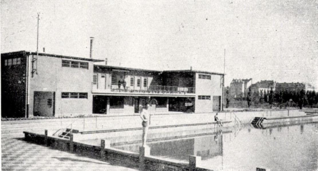 Győri uszoda 1931