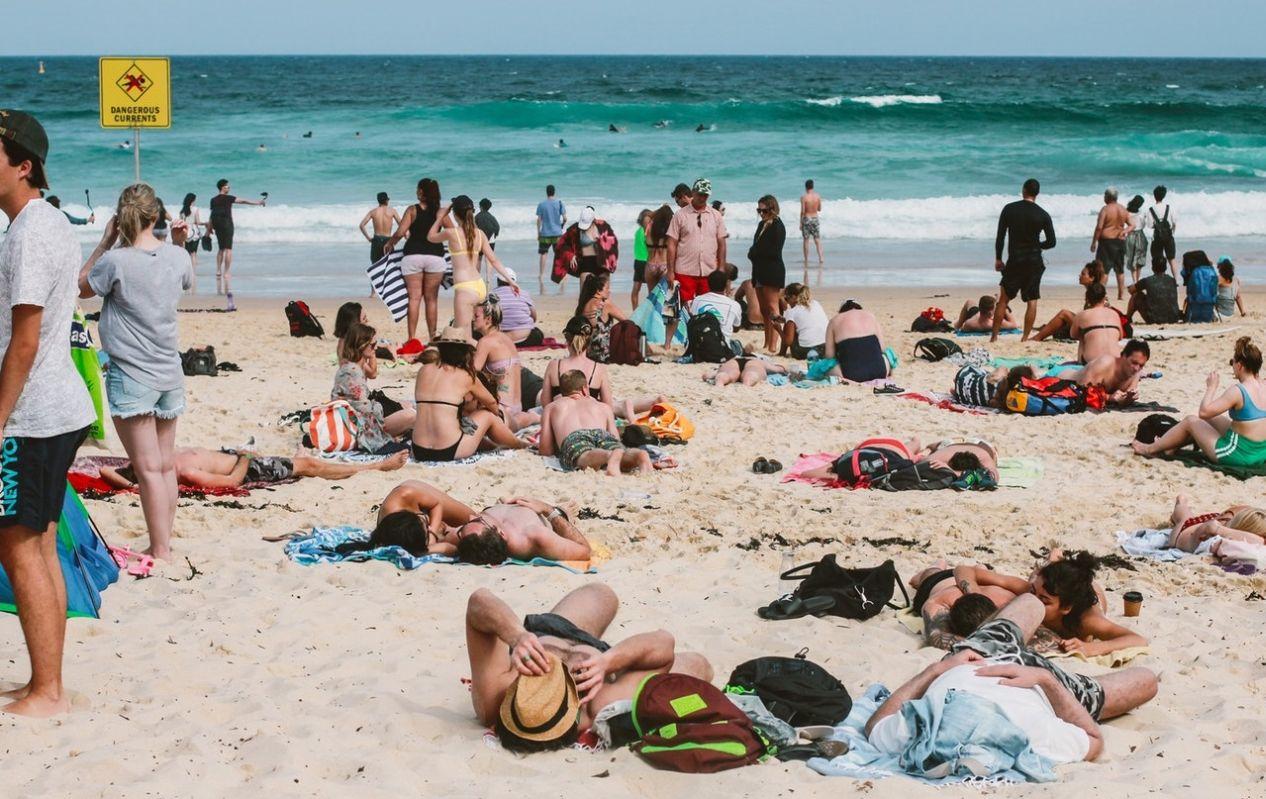 Bondi Beach Ausztrália