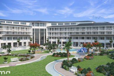 Hatalmas szállodafejlesztés indul Szántódon