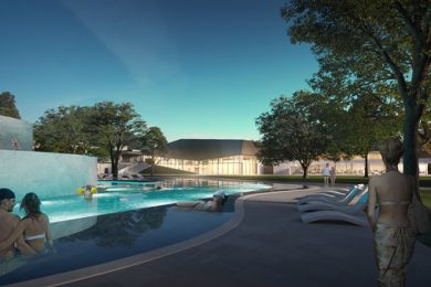 Elvileg közel 20 milliárdos fürdőfejlesztés kezdődhet Győrben