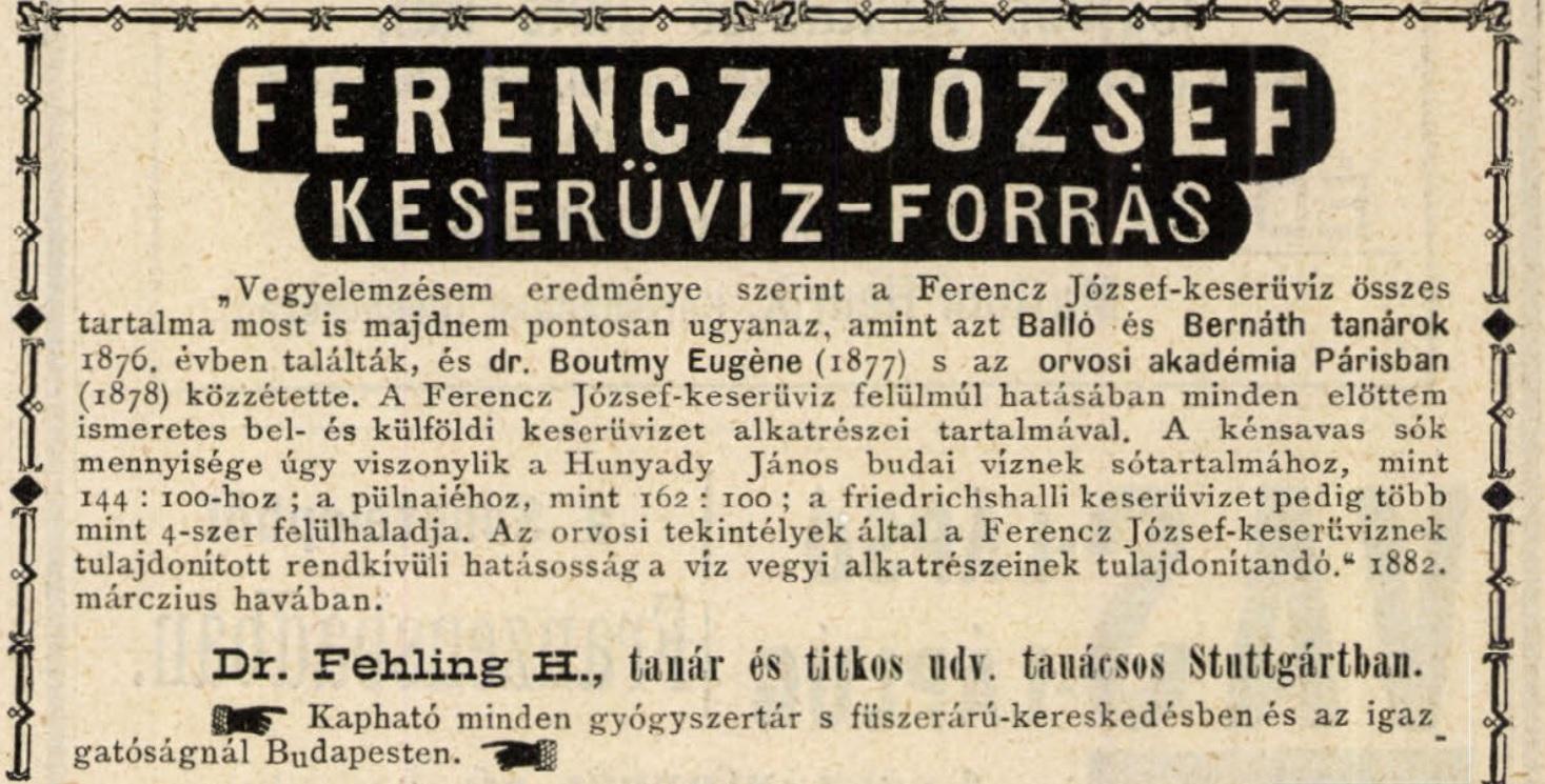 Ferenc József gyógyvíz