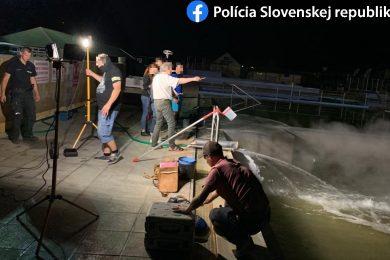 Környezetkárosítás gyanúja merült fel egy szlovák termálfürdőnél