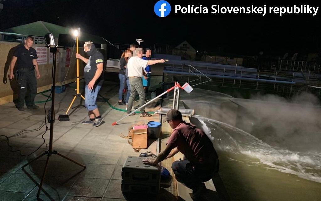 Bellegszencse rendőrség medence
