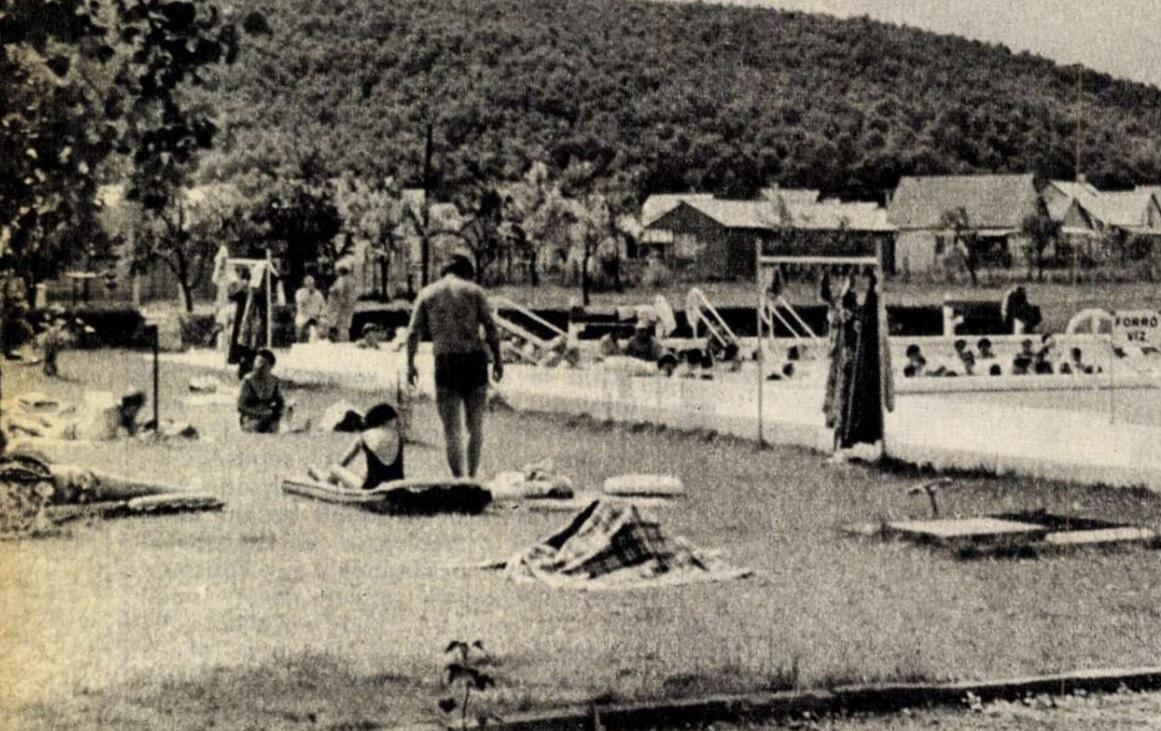 Bogács Gyógyfürdő 1978