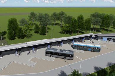 Épül az új buszpályaudvar Hévízen