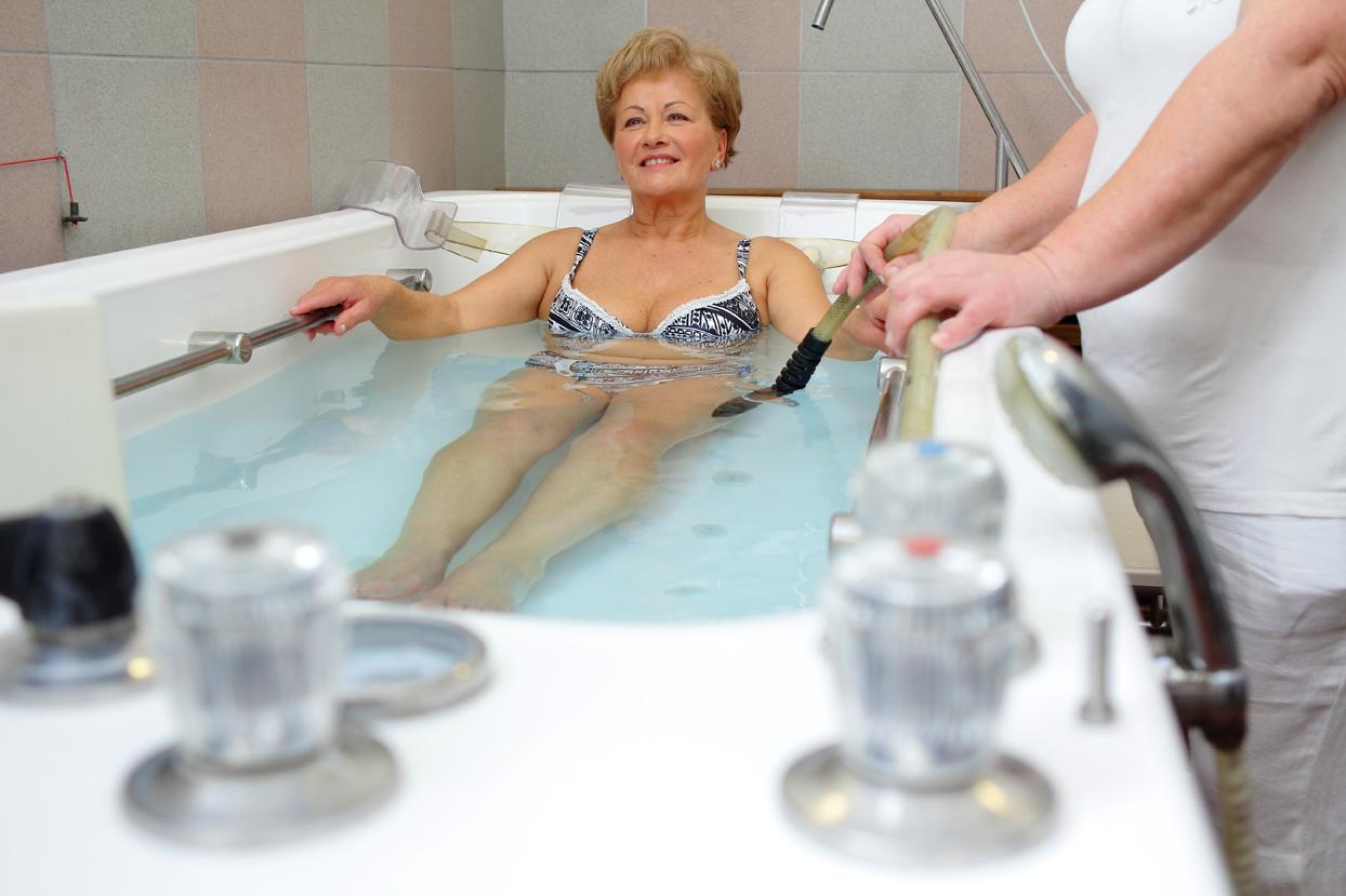 Széchenyi gyógyászat kádfürdő