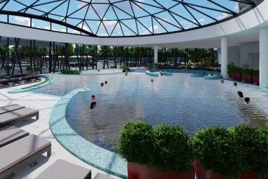 Tiszakavics Hotel: 3000 négyzetméteres fürdőrészlegük is lesz