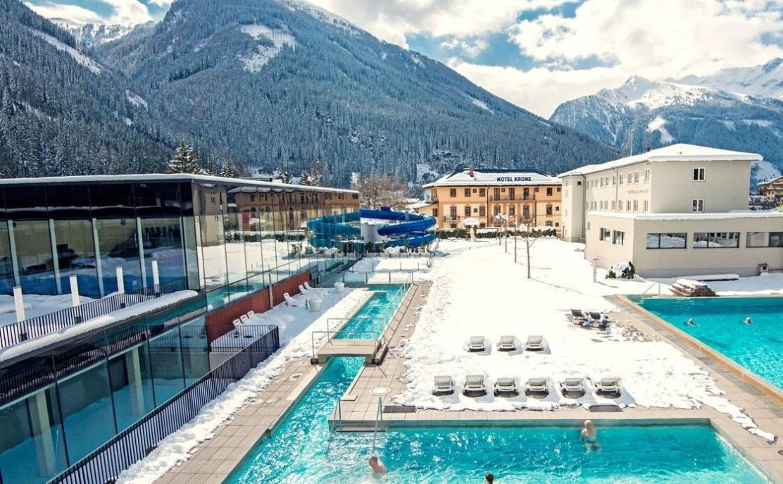 Ausztria termálfürdő tél