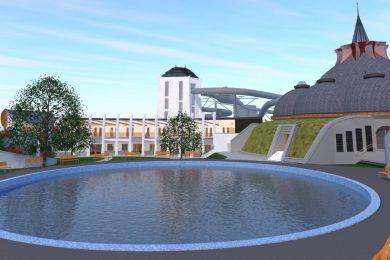 A héten elkezdődött a Hagymatikum fürdő bővítése