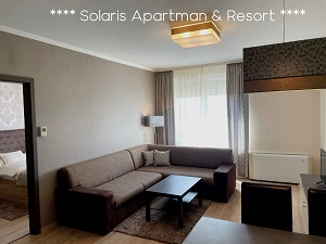 Solaris apartman nappali